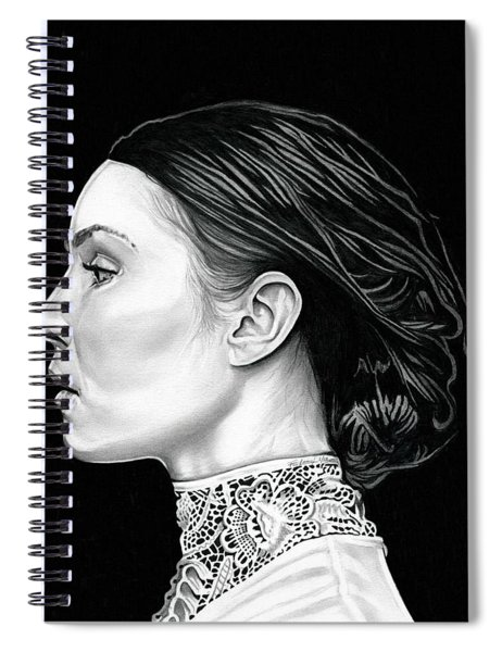 Prometheus - Noomi Rapace Spiral Notebook