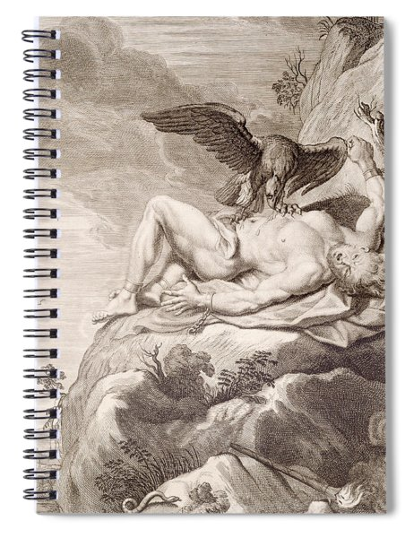 Prometheus Tortured By A Vulture Spiral Notebook