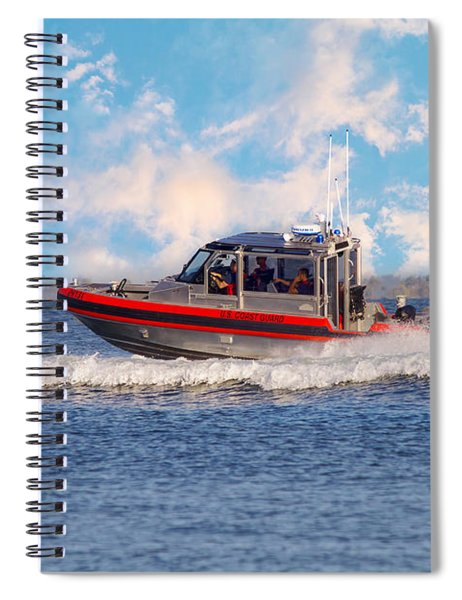 Protecting Our Waters - Coast Guard Spiral Notebook