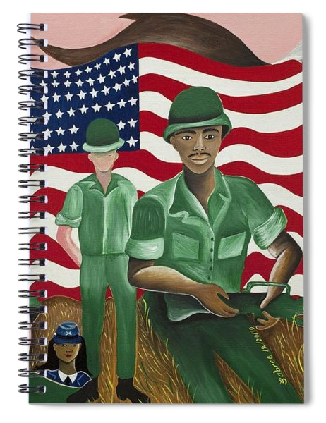 Protectors Of Dreams Spiral Notebook