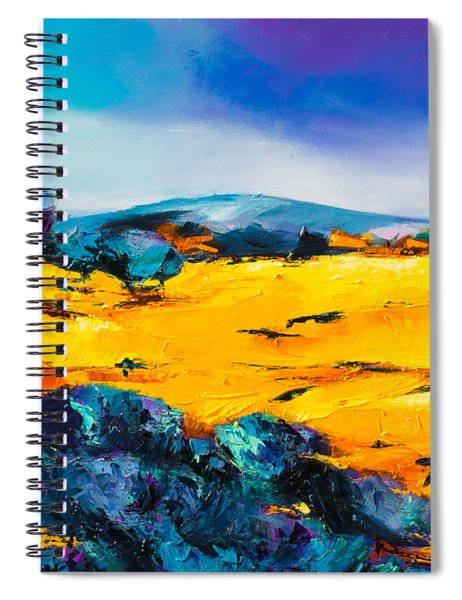 Provence Colors Spiral Notebook