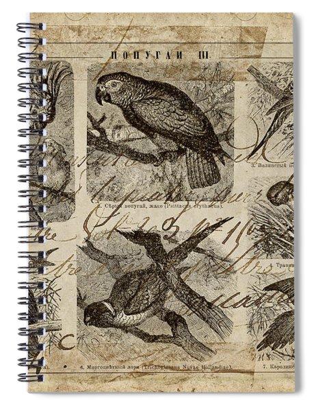 Psittacus Spiral Notebook