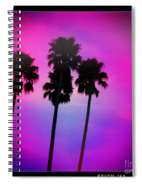 Psychedelic Palms Spiral Notebook