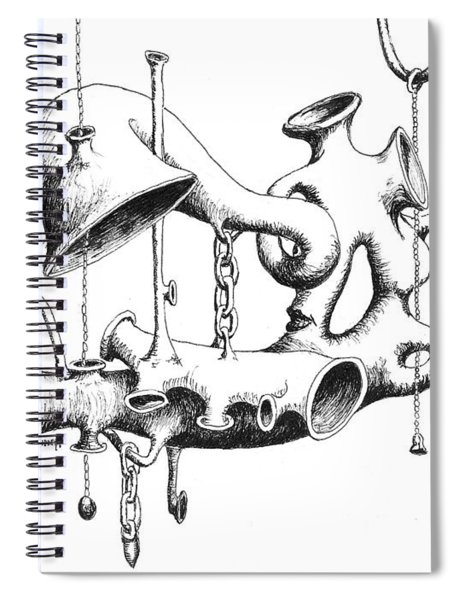 Pull My Chain Sweetheart Spiral Notebook