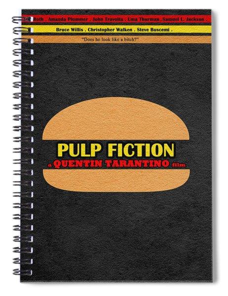 Pulp Fiction Spiral Notebook