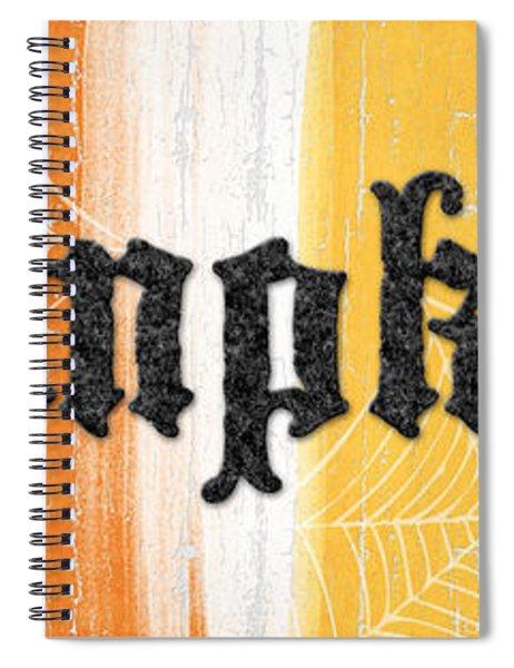 Pumpkins Sign Spiral Notebook