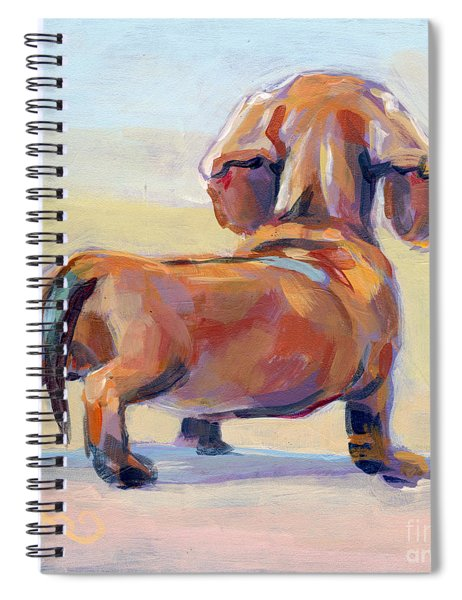 Puppy Butt Spiral Notebook