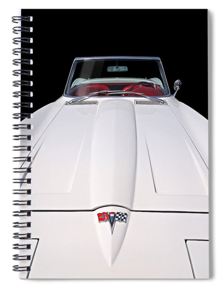 Pure Enjoyment - 1964 Corvette Stingray Spiral Notebook