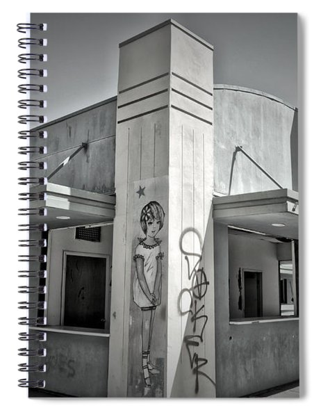 Purity In The Ruins Spiral Notebook