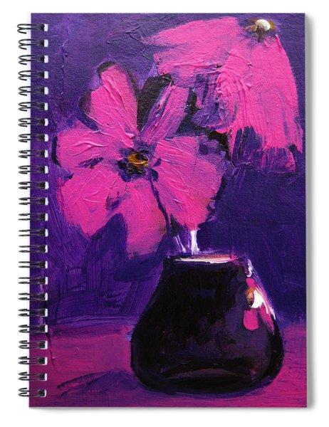 Purple Madness Spiral Notebook