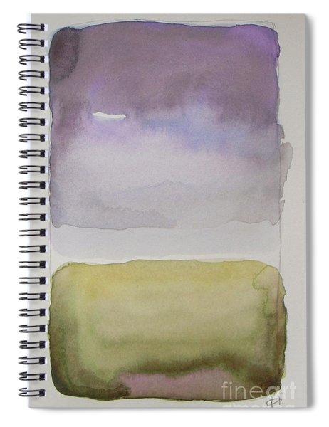 Purple Morning Spiral Notebook
