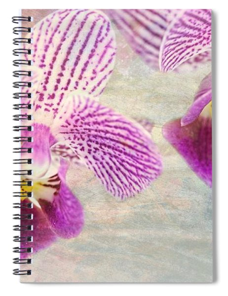 Purple Orchid 2 Spiral Notebook