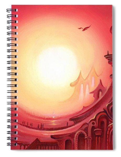Purple Prayer Spiral Notebook