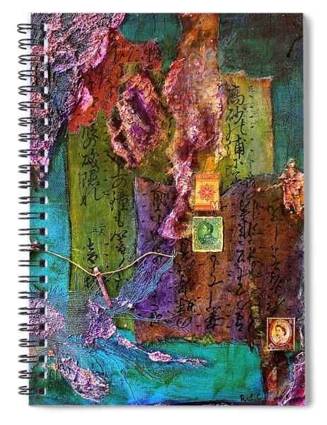 Purple Prose Spiral Notebook