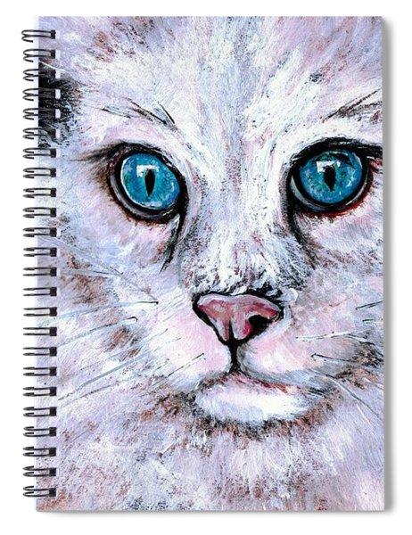 Purrrrrfect Sky Spiral Notebook