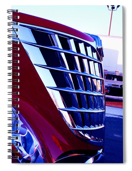 Push Spiral Notebook