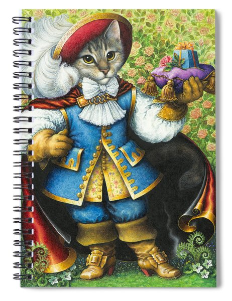 Puss-in-boots Spiral Notebook