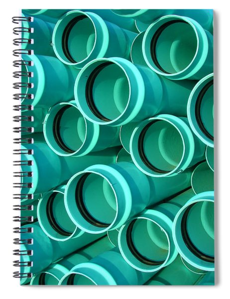 Pvc Pipes Spiral Notebook