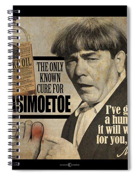 Quasimoetoe Poster Spiral Notebook
