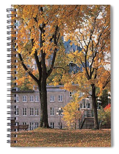 Quebec City Quebec Canada Spiral Notebook