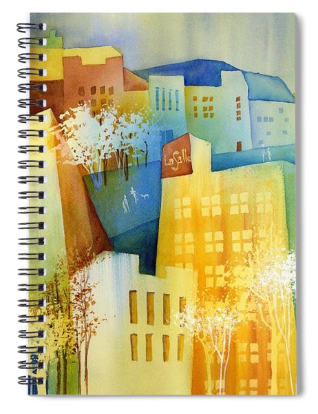 Queen And La Salle Spiral Notebook