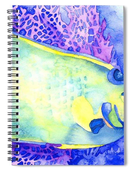 Queen Angelfish Spiral Notebook