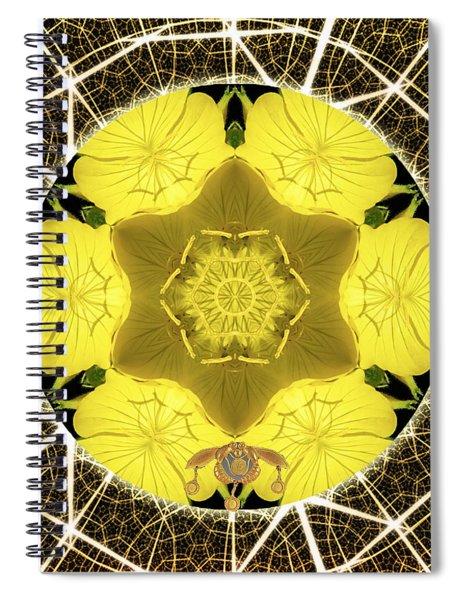 Queen Bee-nectar Of Life Spiral Notebook