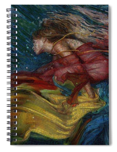 Queen Of The Angels Spiral Notebook
