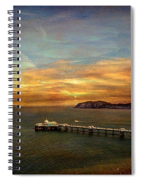 Queen Of The Welsh Resorts Spiral Notebook