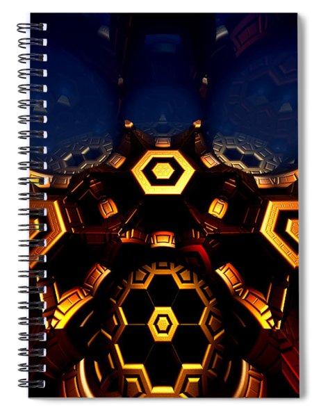 Queen's Chamber Spiral Notebook