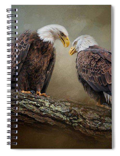 Quiet Conversation Spiral Notebook