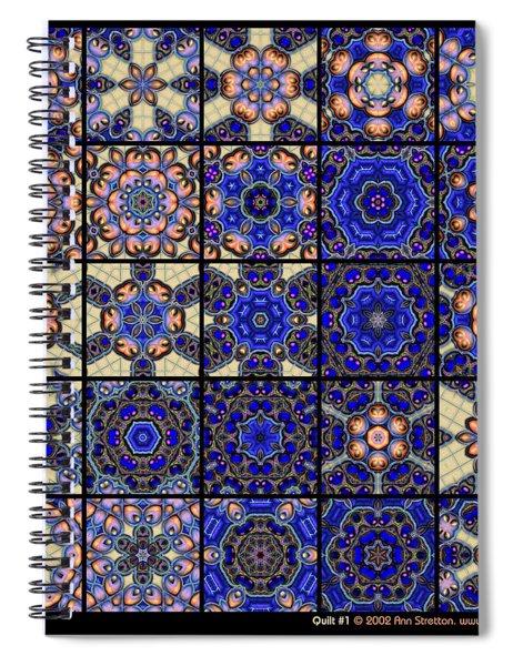 Quilt 1  Spiral Notebook
