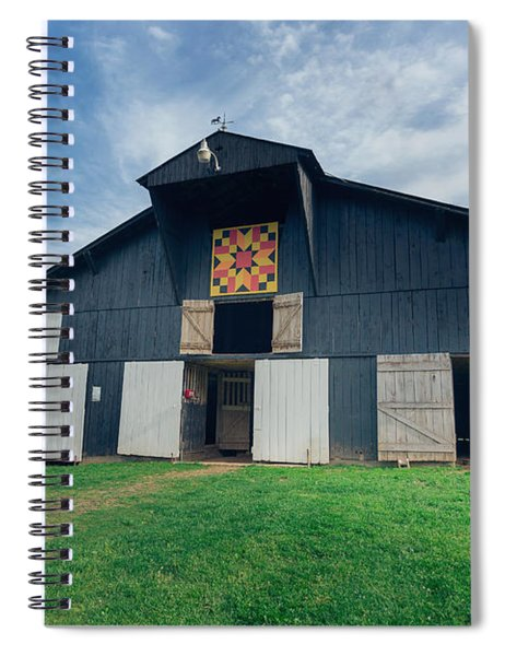 Quilted Barn Spiral Notebook
