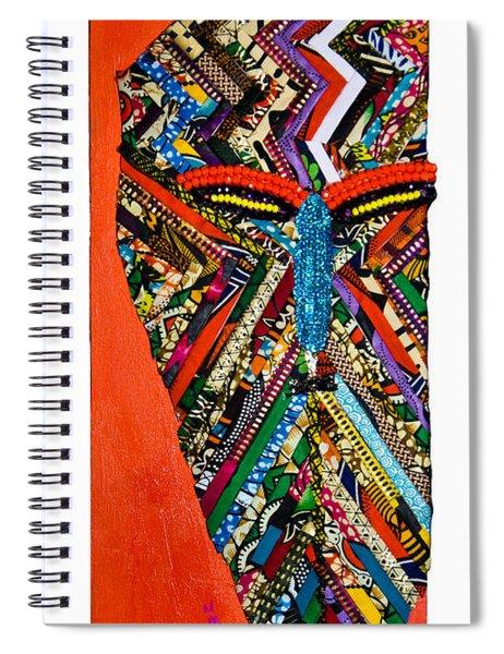 Quilted Warrior Spiral Notebook