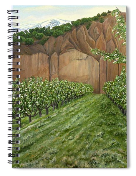 Quince Trees Spiral Notebook