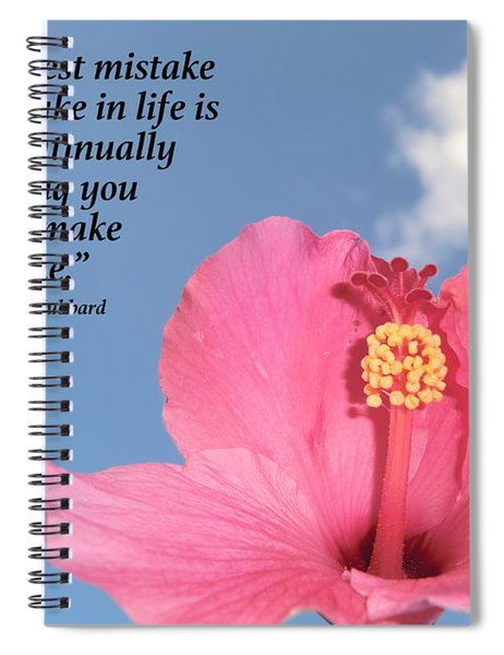 Quotes For The Soul Spiral Notebook