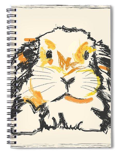 Rabbit Jon Spiral Notebook