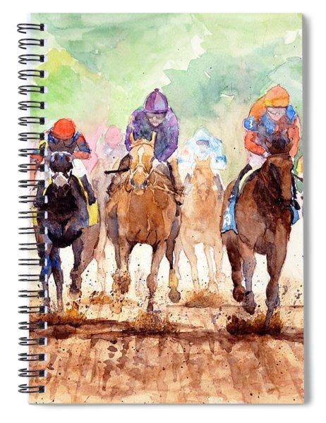 Race Day Spiral Notebook