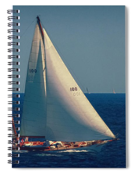Racing For The Finish Spiral Notebook