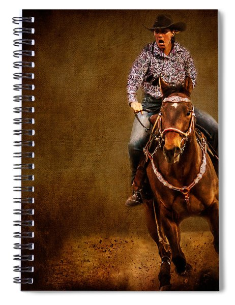 Racing To Win Spiral Notebook