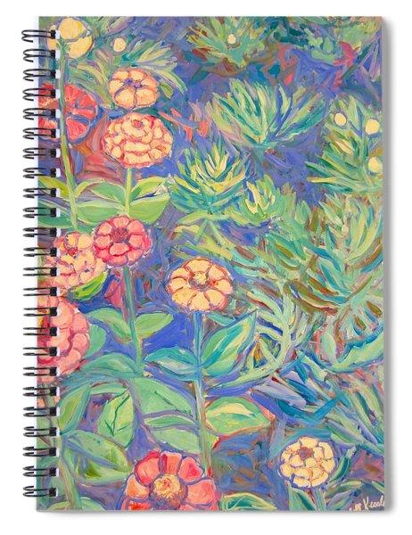 Radford Library Butterfly Garden Spiral Notebook