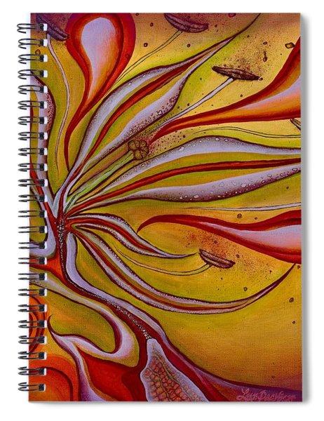 Radiance Of Purpose Spiral Notebook
