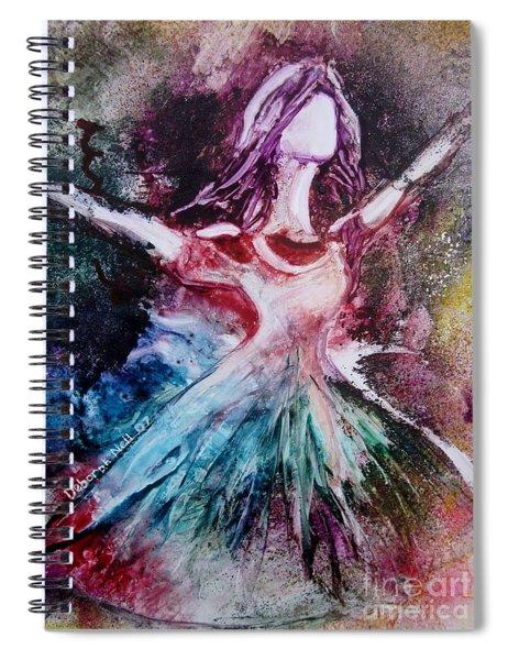 Radiant Bride Spiral Notebook