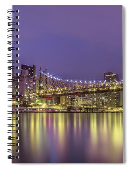 Radiant City Spiral Notebook
