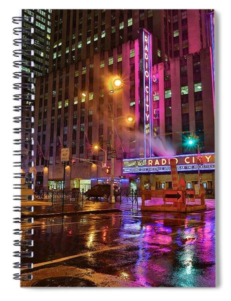 Radio City Music Hall N.y.c. Spiral Notebook