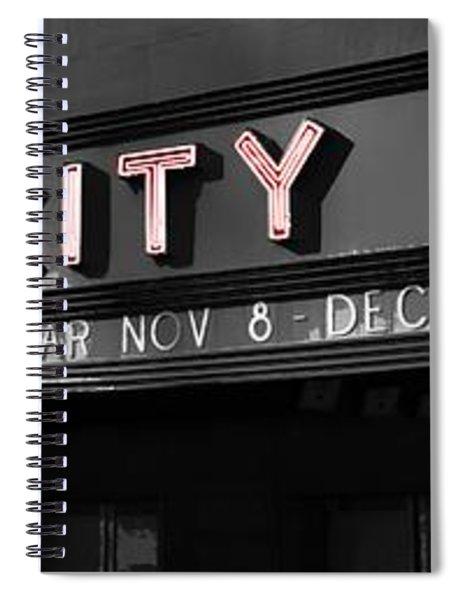 Radio City Poster Spiral Notebook