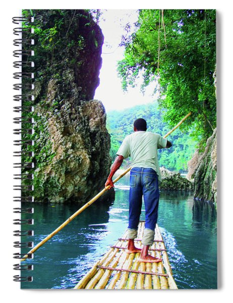 Rafting On The Rio Grande Spiral Notebook