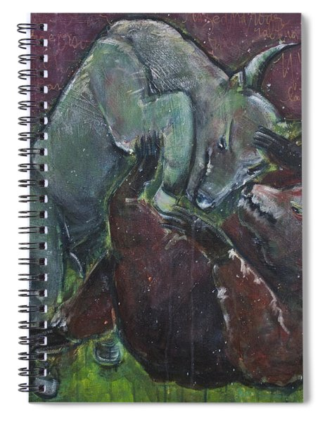 Rage And Roar Spiral Notebook