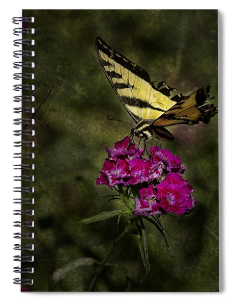 Ragged Wings Spiral Notebook