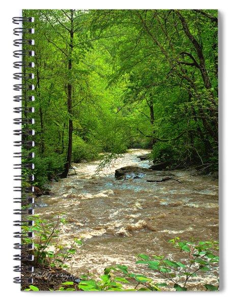 Raging Waters - West Virginia Backroad Spiral Notebook
